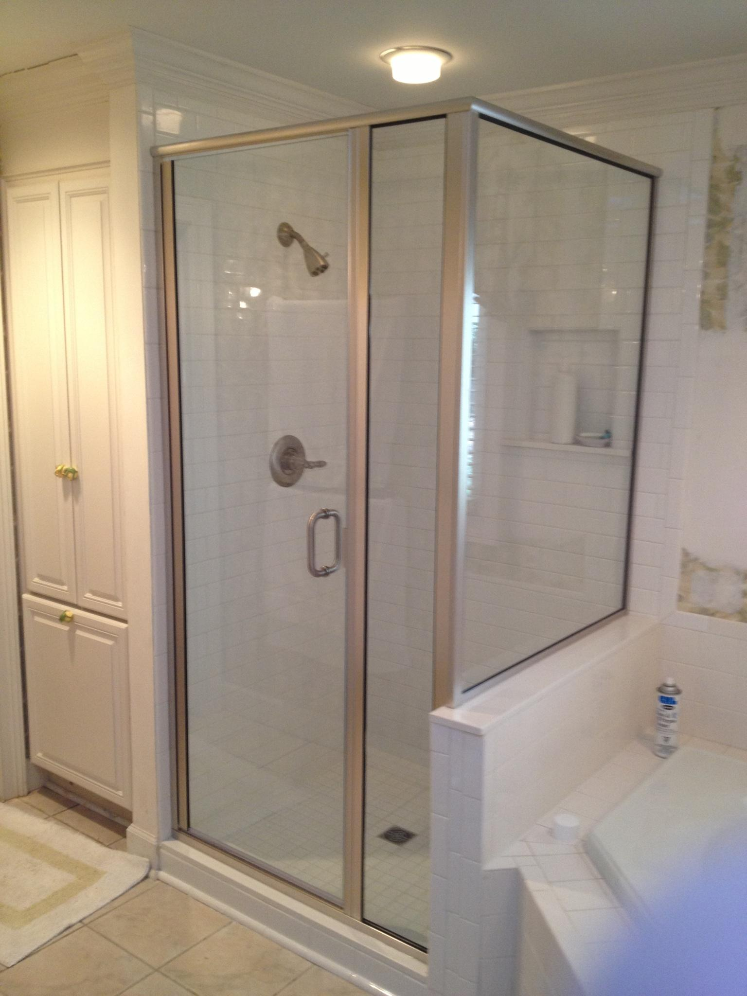 Framed And Semi Frameless Shower Doors